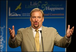American evangelical pastor Rick Warren told The Associated Press that he hopes to expand his ministry to East Africa.
