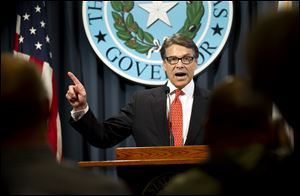Gov. Rick Perry is the first Texas governor since 1917 to be indicted.