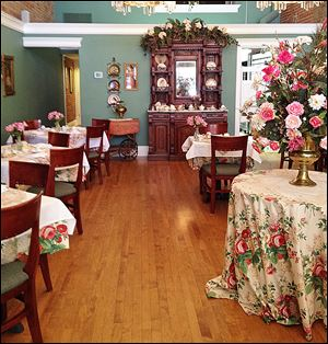 Governor Croswell Tea Room.