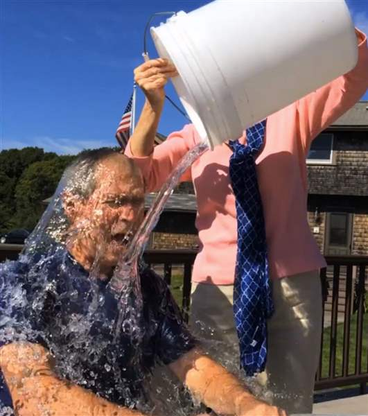 Bush-Ice-Bucket-Challenge-1