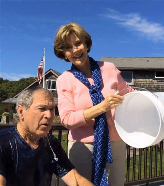 Bush-Ice-Bucket-Challenge