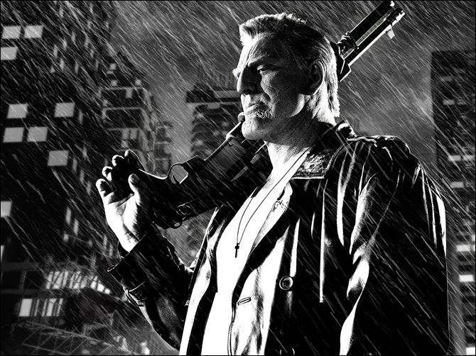 Film Review Sin City A Dame to Kill For Mickey Rourke stars in 'Sin City: A Dame to Kill For.'