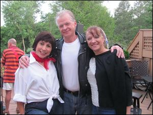 Raquel Bravo, Phil Hazard and Patricia Swemba.