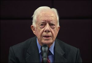 Former U.S. President Jimmy Carter will speak about his new book at the ISNA convention in Detroit.