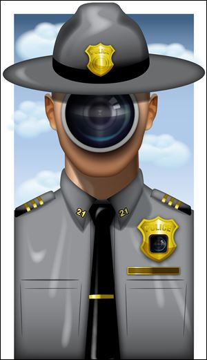 New police cameras have raised questions about privacy.