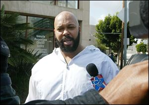 "Rap music mogul Marion ""Suge' Knight was injured in an early morning shooting Sunday."
