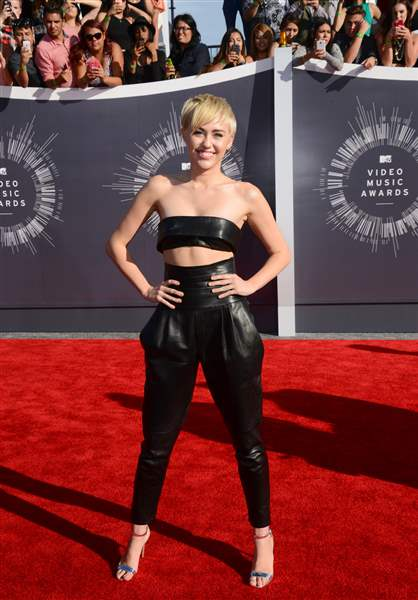 APTOPIX-2014-MTV-Video-Music-Awards-Arrivals