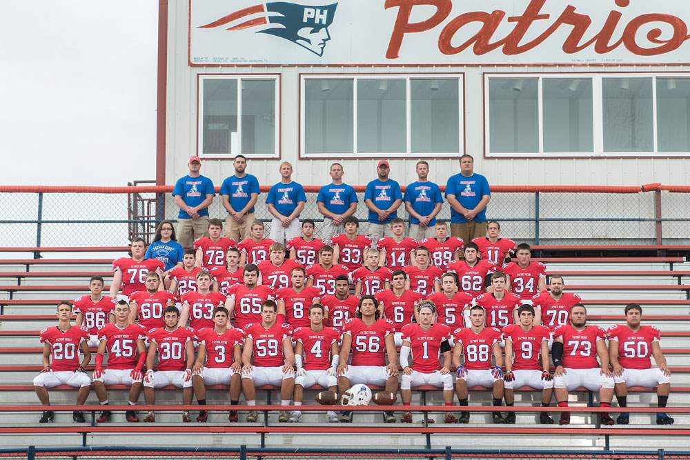 Patrick-Henry-Football-2014-FROM-LEFT-Row-1-Chase-Sh