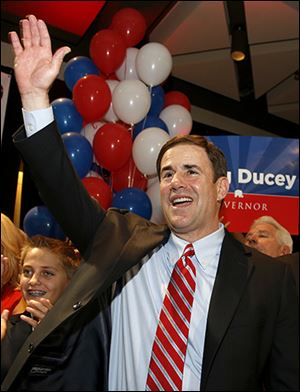 Toledo native Doug Ducey, a Republican, is running for Arizona governor in November.