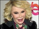 Joan Rivers' daughter says she is resting comfortably after being rushed to the hospital Thursday.