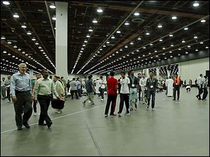 The 51st annual Islamic Society of North America Convention, at the Cobo Center in Detroit.