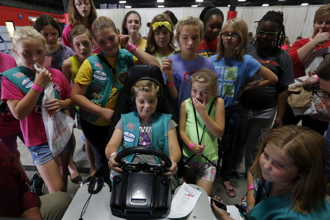 girl scouts of western ohio s b i g event   the blade