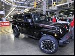 The one-millionth Jeep Wrangler JK model rolled off the assembly line at the  Toledo Assembly Complex last year.