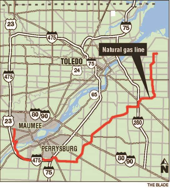 Firm Seeks State Ok For Gas Pipeline The Blade