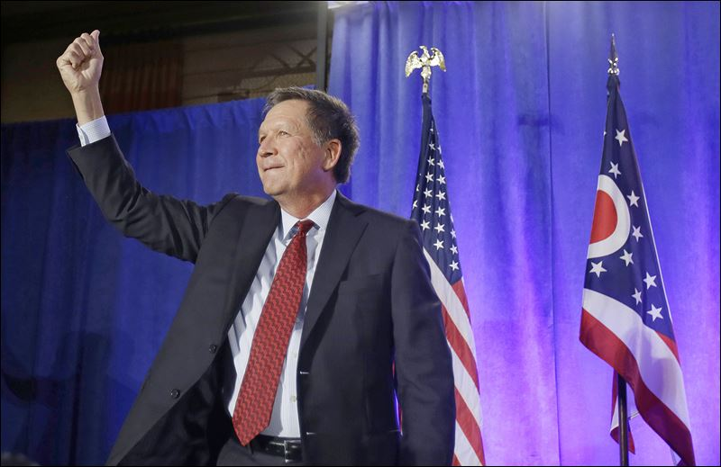 Gov. John Kasich cruises to win in Ohio governor's race ...