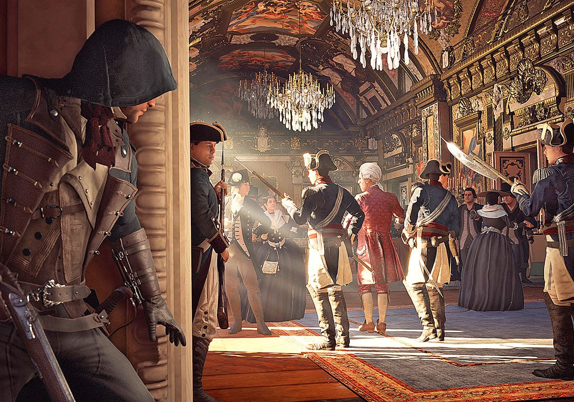 Assassin S Creed Stumbles Into The French Revolution In Unity