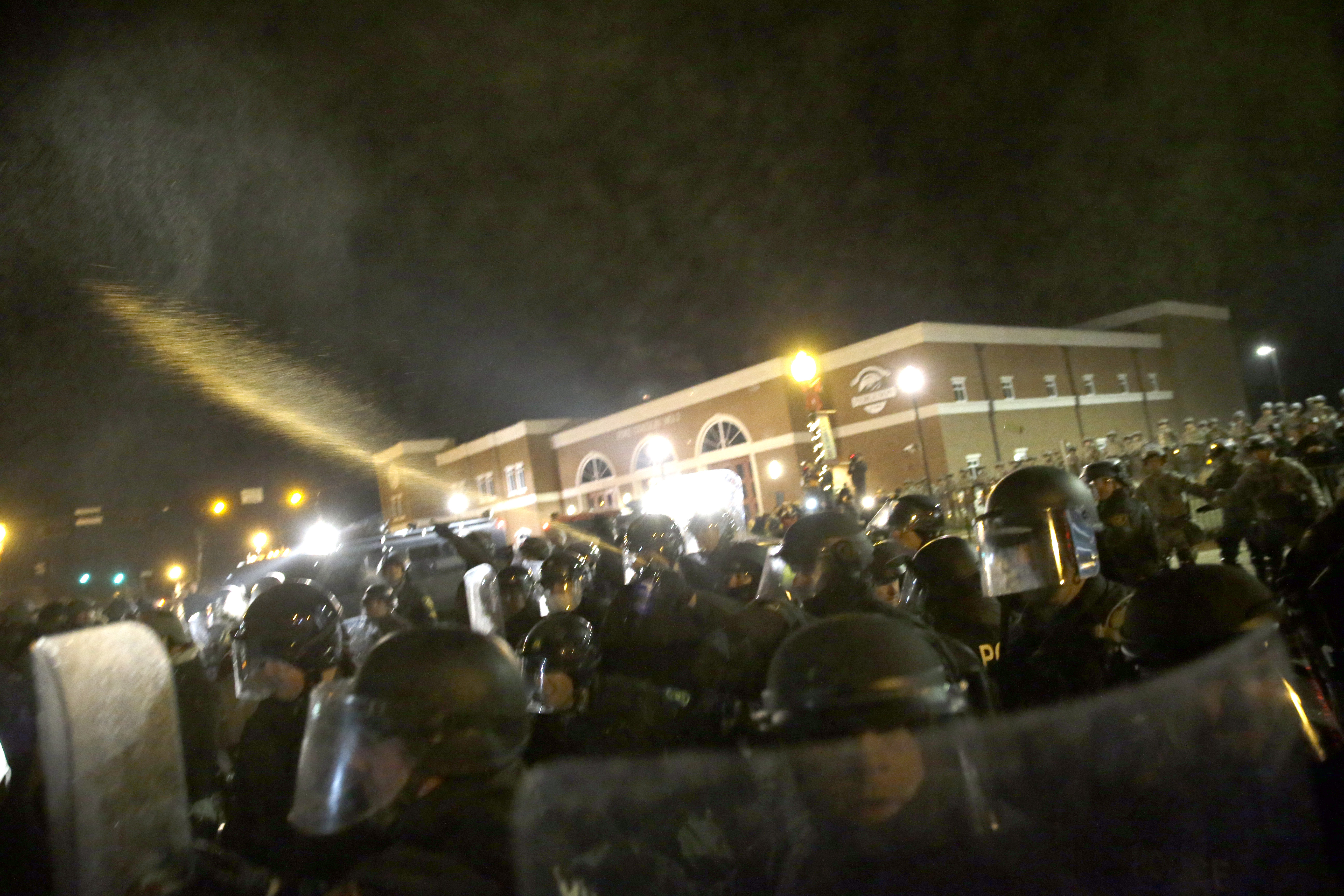 Guard Reinforcements Contain Damage In Ferguson The Blade