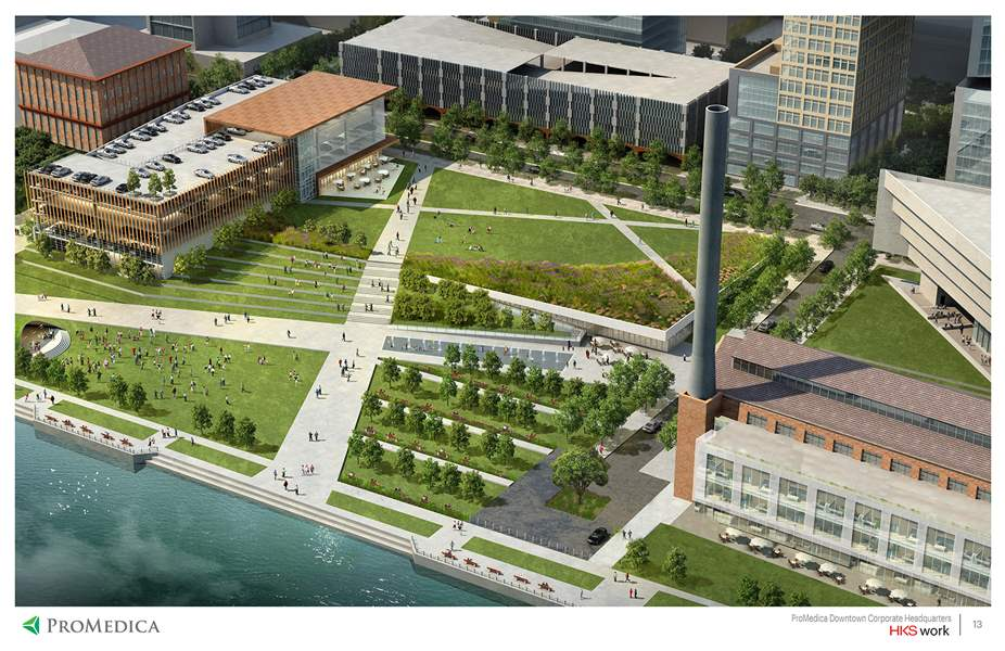 Promedica And Promenade Park Let S Have Both The Blade