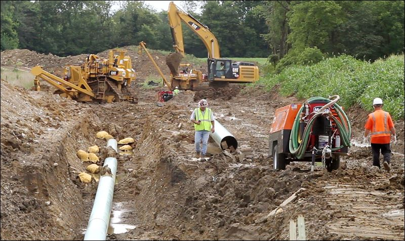 Natural Gas Pipeline Ohio