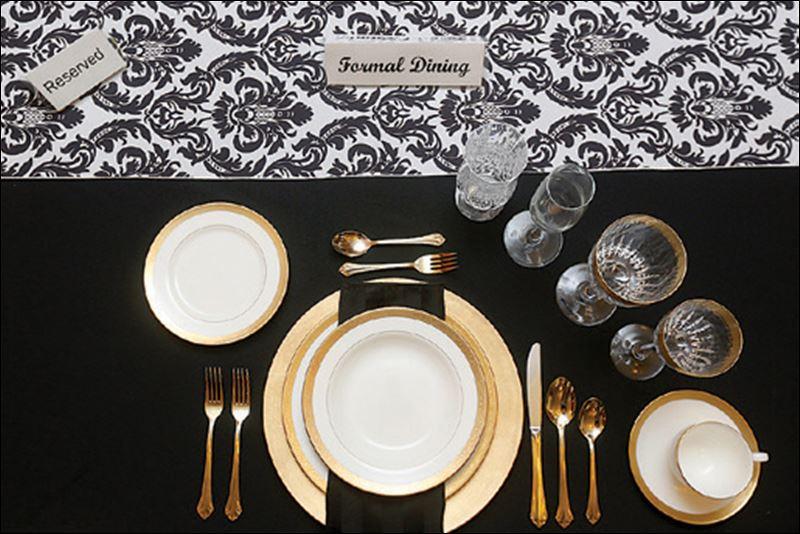 Formal Dinner Setting : Formal dining etiquette silverware setting order