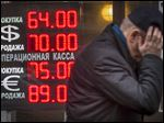 After a dramatic middle-of-the-night interest rate hike, a sense of economic chaos settled over the Russian capital.