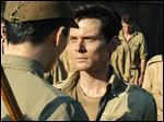 Jack O'Connell in a scene from 'Unbroken.'