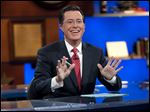 Stephen Colbert takes over for David Letterman in the fall of 2015.