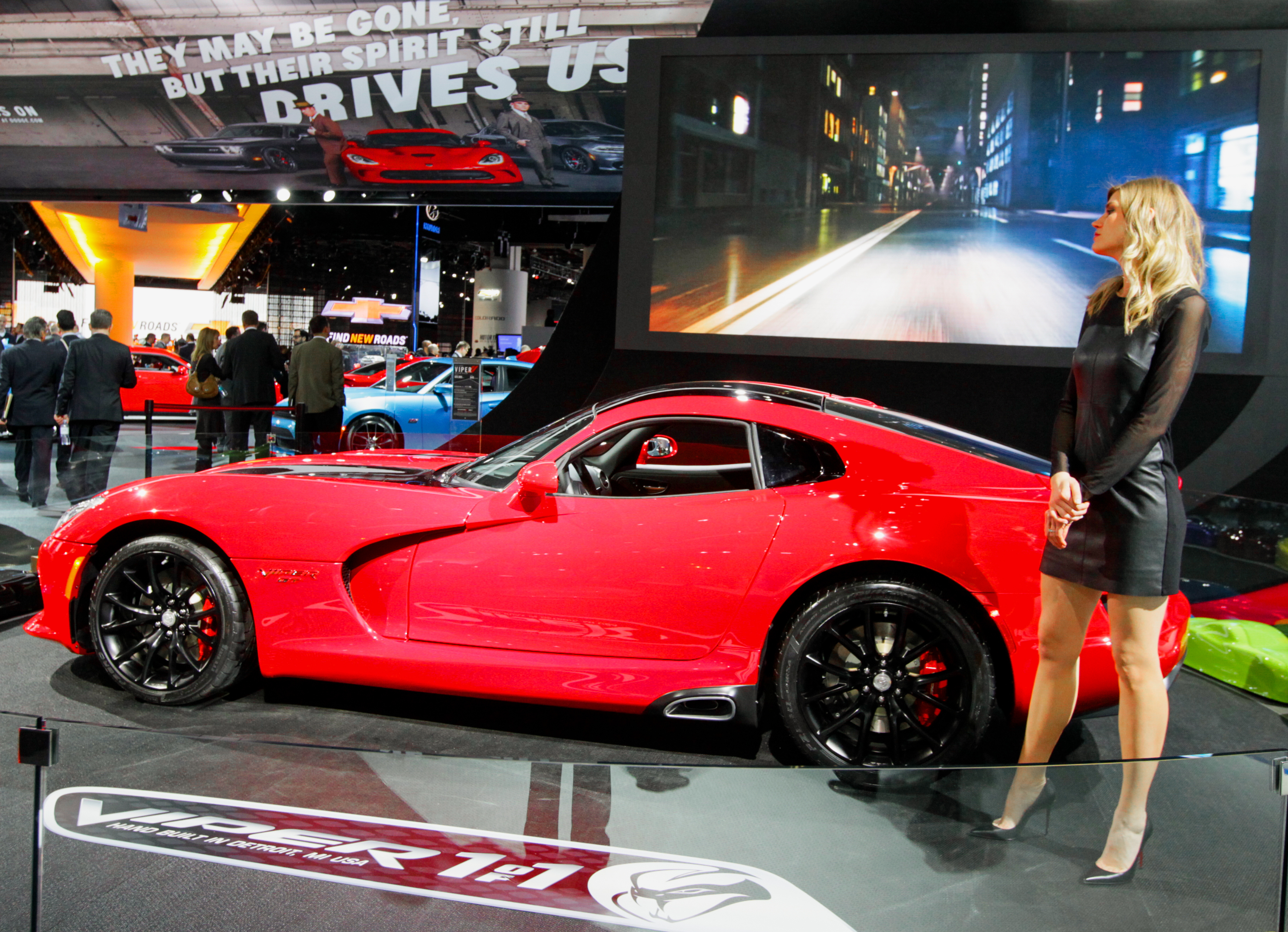 New Dodge Trucks >> North American International Auto Show appeals to both car ...