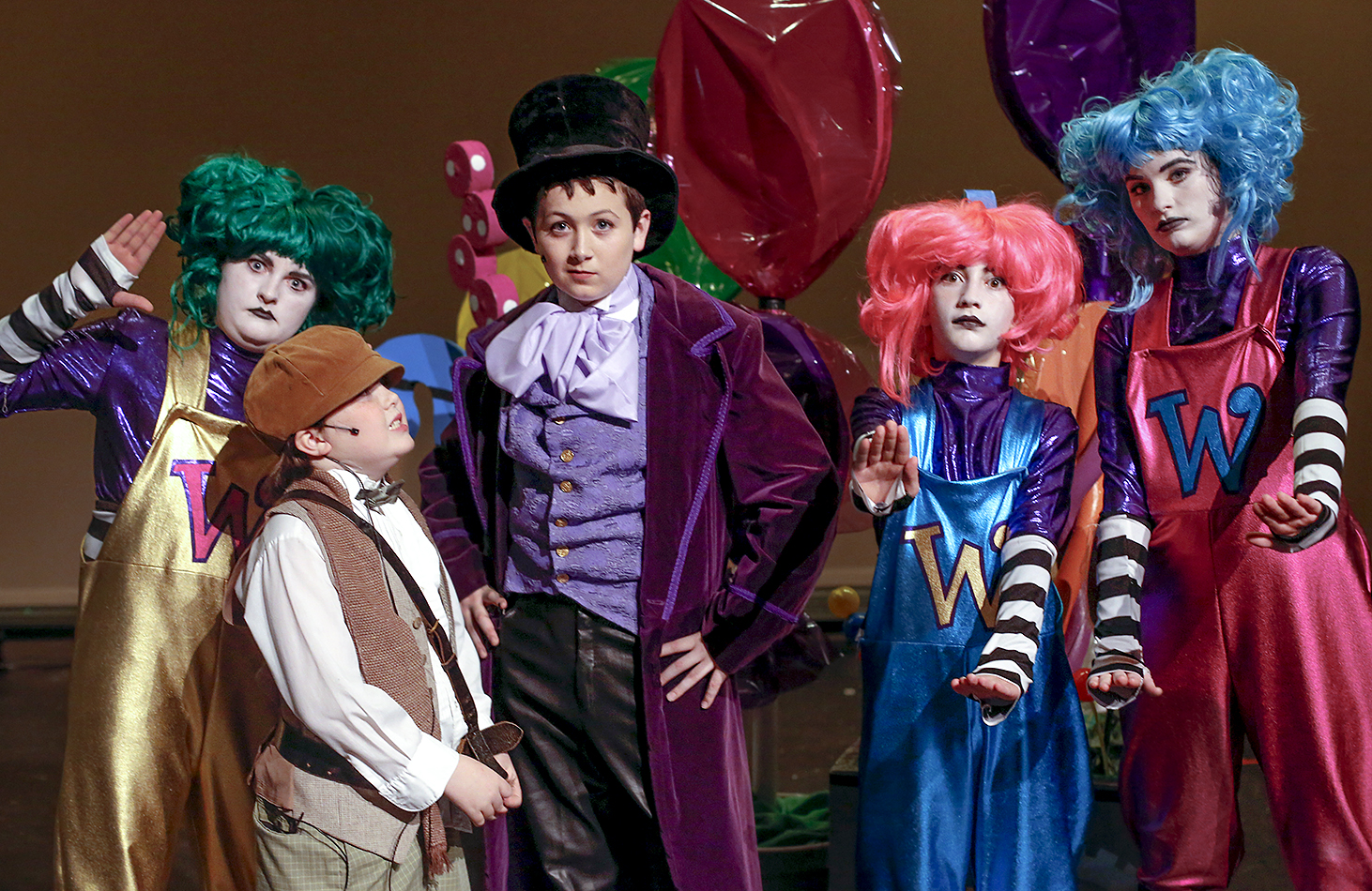Major Characters In Charlie And The Chocolate Factory