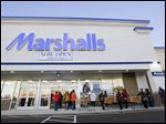 The opening of the new Marshalls and HomeGoods combination stores at the Shops at Franklin Place helped spur growth in the Toledo retail market.