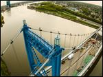 'Bird's-Eye View of the Anthony Wayne Bridge,' a photo by Rick Francis, is one of the works on view in the 10th Artist Showcase at the University of Toledo Health Science Campus.  The show opens Monday.
