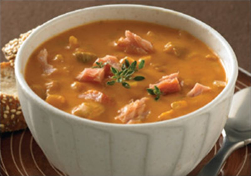 Seattle Smoked Salmon Chowder.