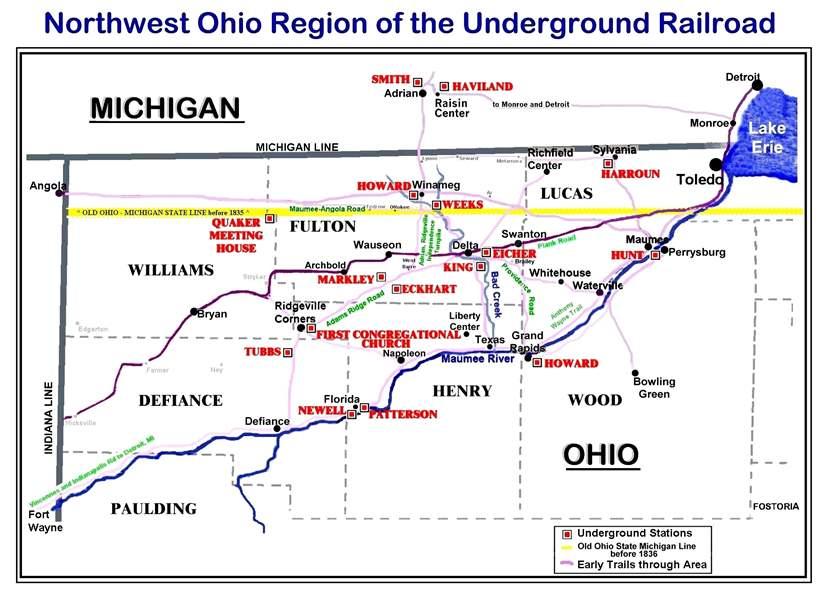 Canada Underground Railroad Tour