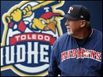 Toledo Mud Hens manager Larry Parrish.