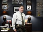 Toledo Police Chief George Kral in his office at the Public Safety Building.