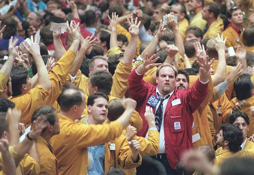 Traders Nostalgic For Roar As Rowdy Trading Pits Close