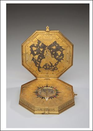 Toledo Museum of Art will return this 450-year-old astrological compendium or astrolabe, a 16th century scientific instrument to Germany.