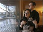Clare LaTorre, 24, and Alex Bienkowski, 24, rent an apartment in Royal Oak, Mich., a Detroit suburb. They have started to save $10,000 to $15,000 to buy a house. They could be eligible for the 3 percent down-payment plan if they meet requirements such as a low debt-to-income ratio, a credit score of 620, and other 'compensating factors.'
