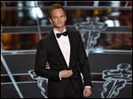 Host Neil Patrick Harris was at the Oscars on Sunday at the Dolby Theatre in Los Angeles.
