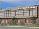 The proposed 40,000-square-foot facility will be built adjacent to Mercy's Emergency Services at 12621 Eckel Junction Rd.