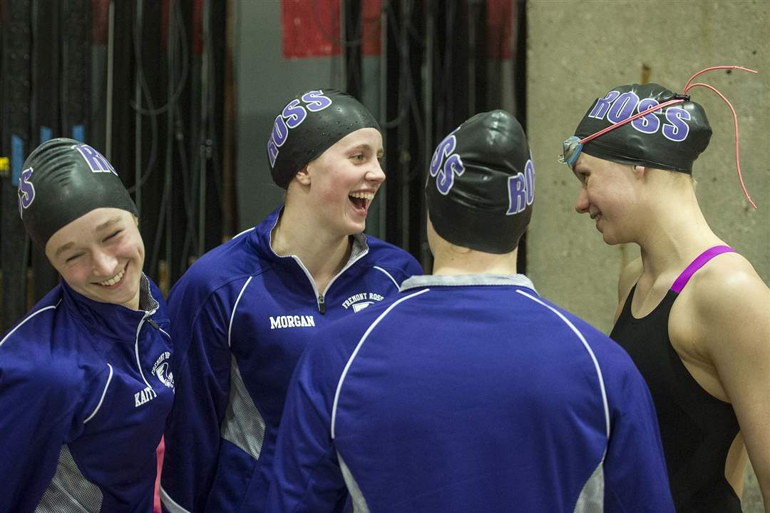 In Pictures Ohsaa Swimming Championships The Blade