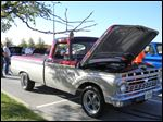 Penta students restored this 1965 Ford F-100 over three years, and now it's on display at the Detroit Autorama.
