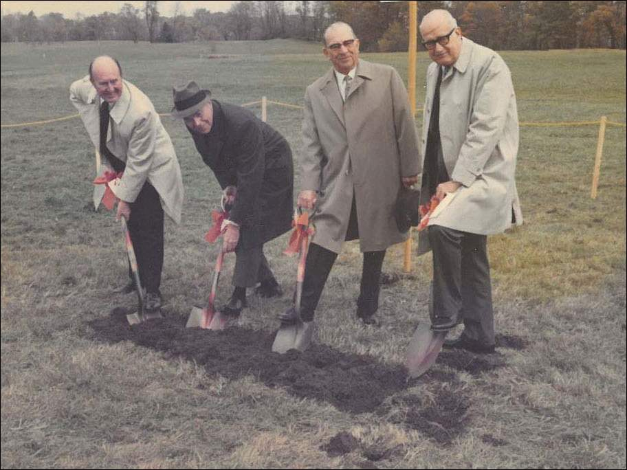Flower Hospital broke ground for the Sylvania location on October 25, 1972.
