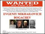 The FBI's wanted poster of Evgeniy Bogachev