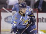 The Walleye's Justin Daniels was traded from Elmira this month. He was diagnosed with a heart disease that affected a valve and had open-heart surgery at 23.