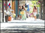 Front Street is Traverse City's tree-shaded Victorian downtown shopping district, with more than 150 boutiques, restaurants, galleries, and coffee shops.