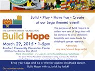 Build Hope event flyer