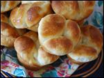 Old-fashioned yeast rolls make a special meal even more memorable.