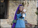 "Cote de Pablo as Shirah in the new CBS two-night miniseries ""The Dovekeepers,"" based on the best-selling novel of the same name. The series from executive producers Roma Downey and Mark Burnett, will be broadcast Tuesday (March 31) and Wednesday (April 1) from 9-11 p.m."