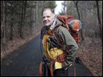 Kevin Wietrzykowski of Whitehouse has been preparing for months to hike the Appalachian Trail. The 55-year-old Woodward graduate began his journey at Springer Mountain in Georgia on Saturday.